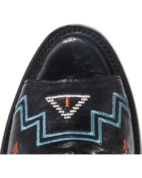 Lane Women's Nova Peeptoe Booties, Black, hi-res
