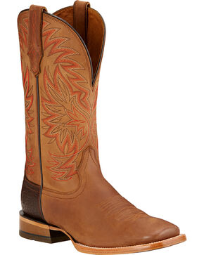 Ariat Men's High Call Square Toe Western Boots, Dusty Brn, hi-res