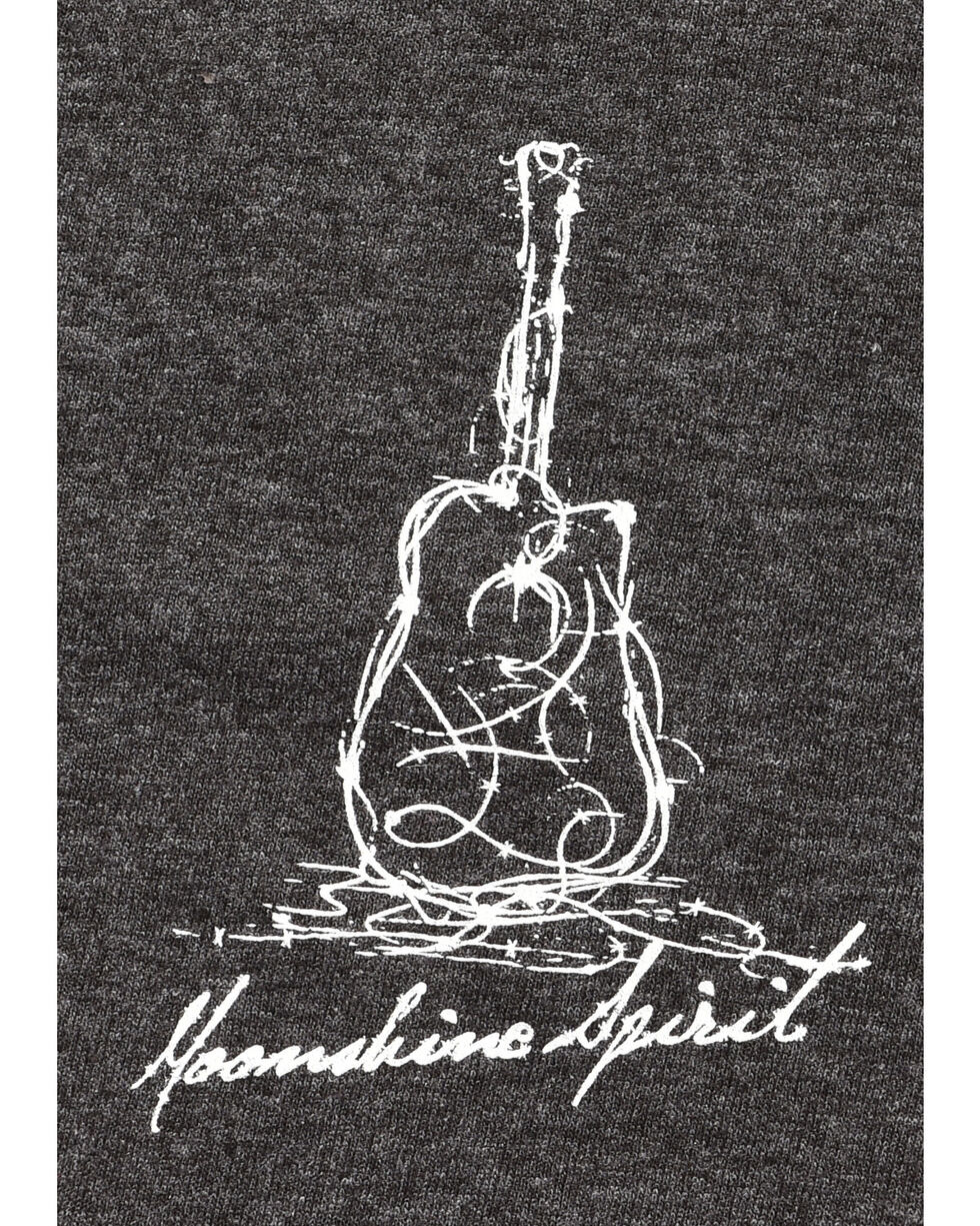 Moonshine Spirit Barbed Guitar Graphic Tee, Charcoal, hi-res