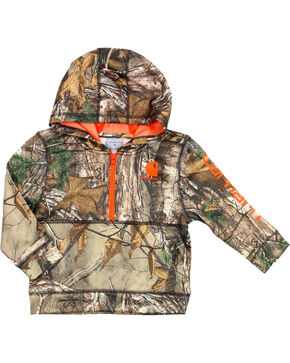 Carhartt Toddler Boy's RealTree Camo Hoodie, Camouflage, hi-res