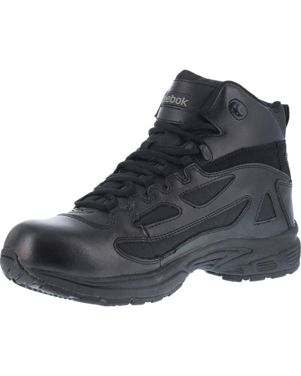 Reebok Men's Rapid Response Work Boots, Black, hi-res