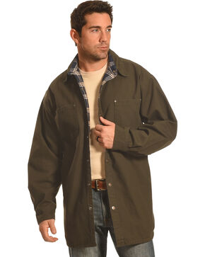 Forge Workwear Men's Moss Lined Shirt Jacket , Moss, hi-res