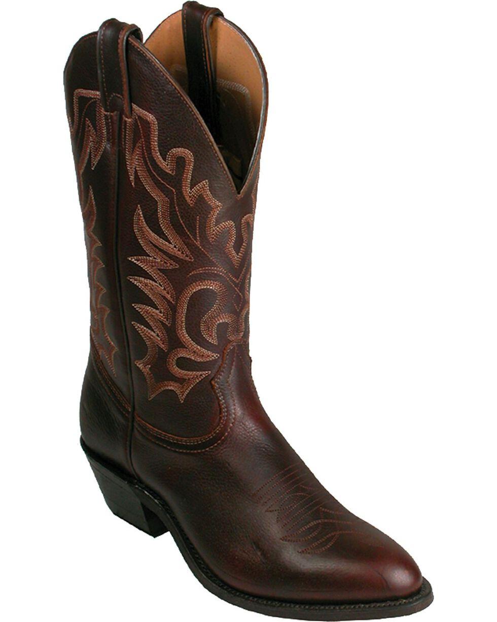 """Boulet Men's 13"""" Challenger Rubber Sole Cowboy Boots, Honey, hi-res"""