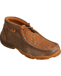 Twisted X Women's Woven Driving Mocs, , hi-res