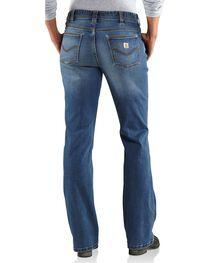 Carhartt Women's Original Fit Medium Indigo Jasper Jeans, , hi-res