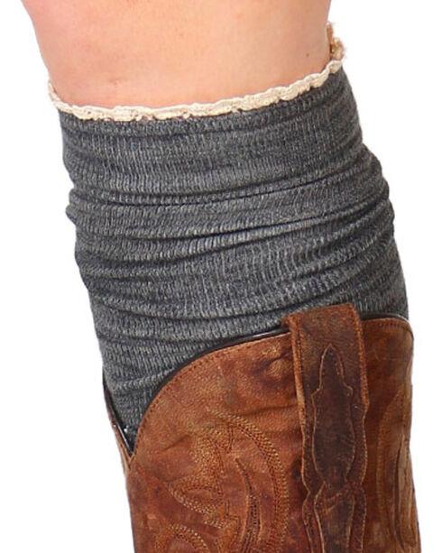 Shyanne® Women's Knee-High Boot Socks, Charcoal, hi-res