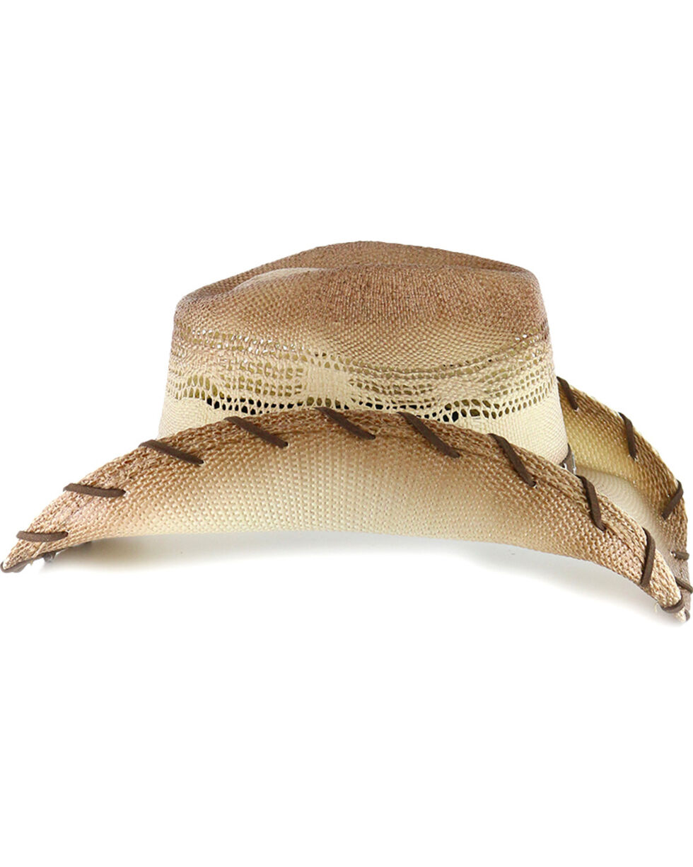 Cody James® Saddle Straw Cowboy Hat, Brown, hi-res