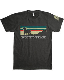 Dale Brisby Men's Sunset Rodeo Time T-Shirt , , hi-res