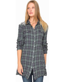 3J Workshop Women's Anderson Western Tunic Top, , hi-res