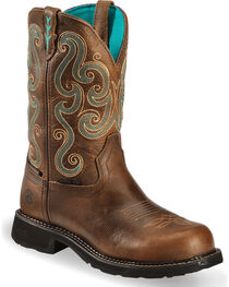 Justin Women's Gypsy Steel Toe Work Boots, , hi-res