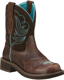 Ariat Women's Fatbaby Heritage Dapper Western Boots, , hi-res