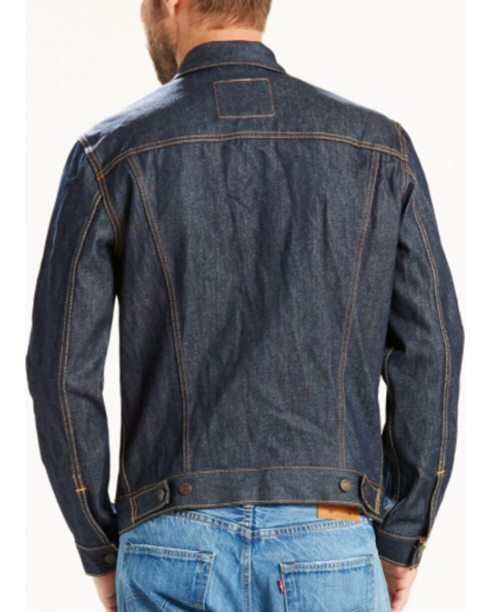 Levi's Men's Indigo The Trucker Denim Jacket , Indigo, hi-res