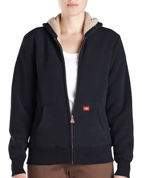 Dickies Sherpa Lined Fleece Jacket, Black, hi-res