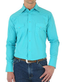 Wrangler Men's Sport Western Long Sleeve Shirt, , hi-res