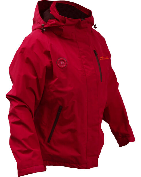 My Core Control Women's Heated Ski Jacket, Red, hi-res