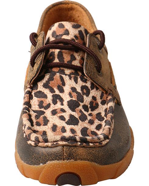 Twisted X Boots Women's Cheetah Print Driving Mocs, Leopard, hi-res