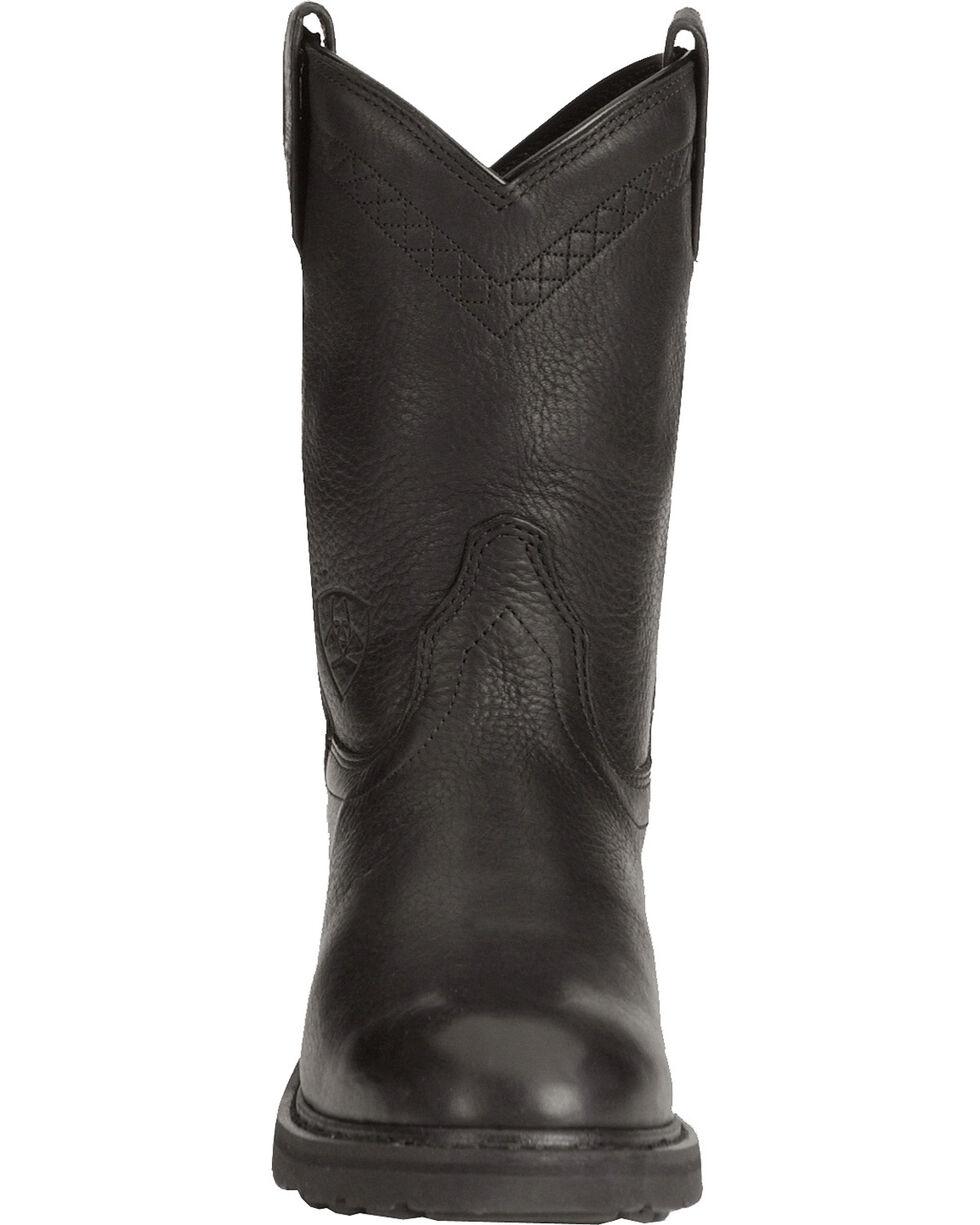 Ariat Men's Sierra Work Boots, Black, hi-res