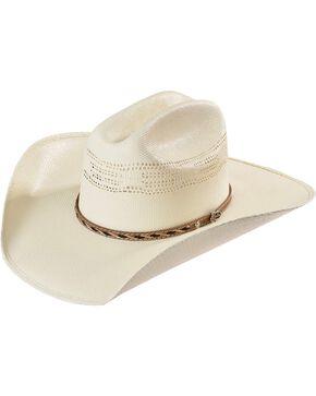 Justin 20X Bonanza Straw Cowboy Hat, Natural, hi-res