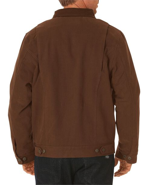 Dickies Sanded Duck Sherpa Lined Jacket, Timber, hi-res