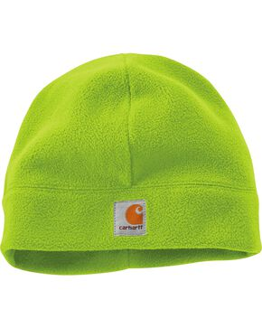 Carhartt High-Visibility Color Enhanced Beanie, Lime, hi-res