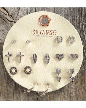 Shyanne Women's Bone Multi Earring Set, Ivory, hi-res
