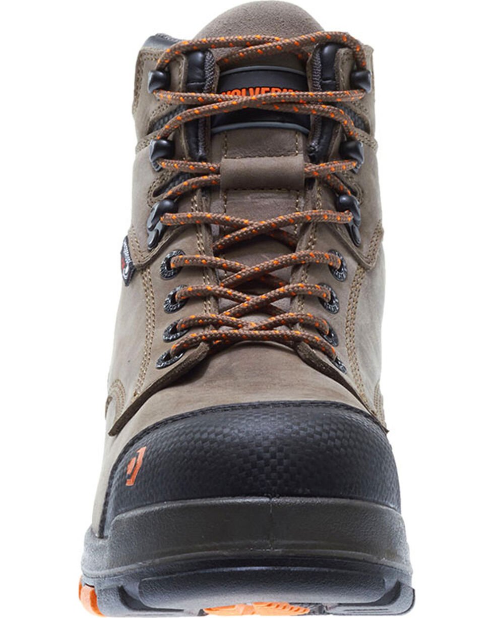 Wolverine Men's Blade Waterproof Work Boots, Brown, hi-res