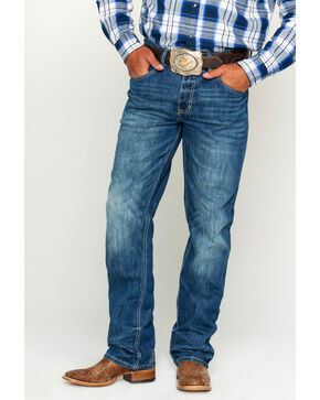 Cody James® Men's Dryden Light Stretch Boot Cut Jeans, Blue, hi-res