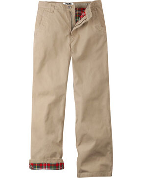 Mountain Khakis Men's Flannel Relaxed Fit Original Mountain Pants , Khaki, hi-res