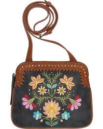 Bandana by American West Women's Maya 2 Compartment Crossbody Bag, , hi-res