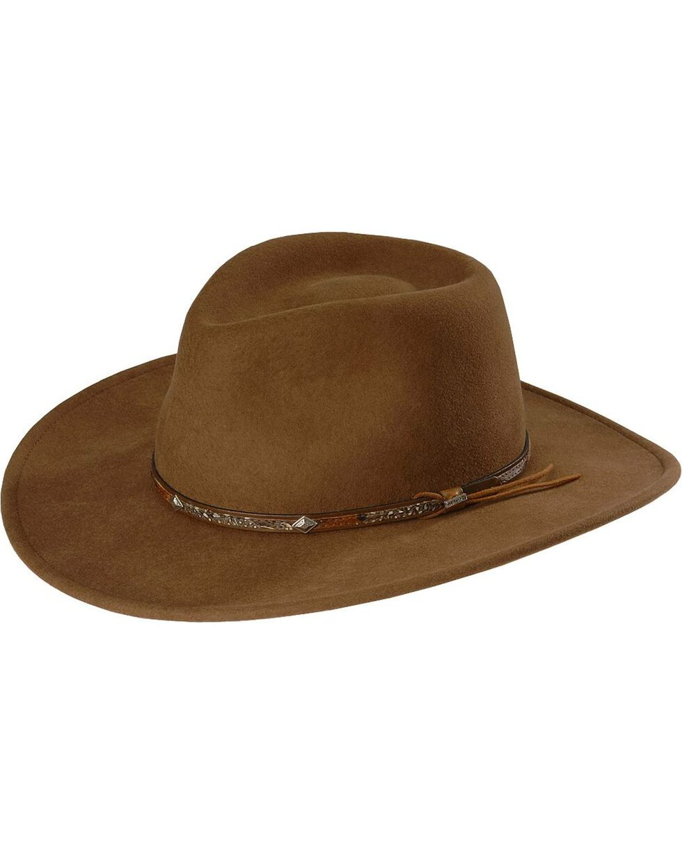 Stetson Mountain Sky Crushable Wool Hat, Acorn, hi-res