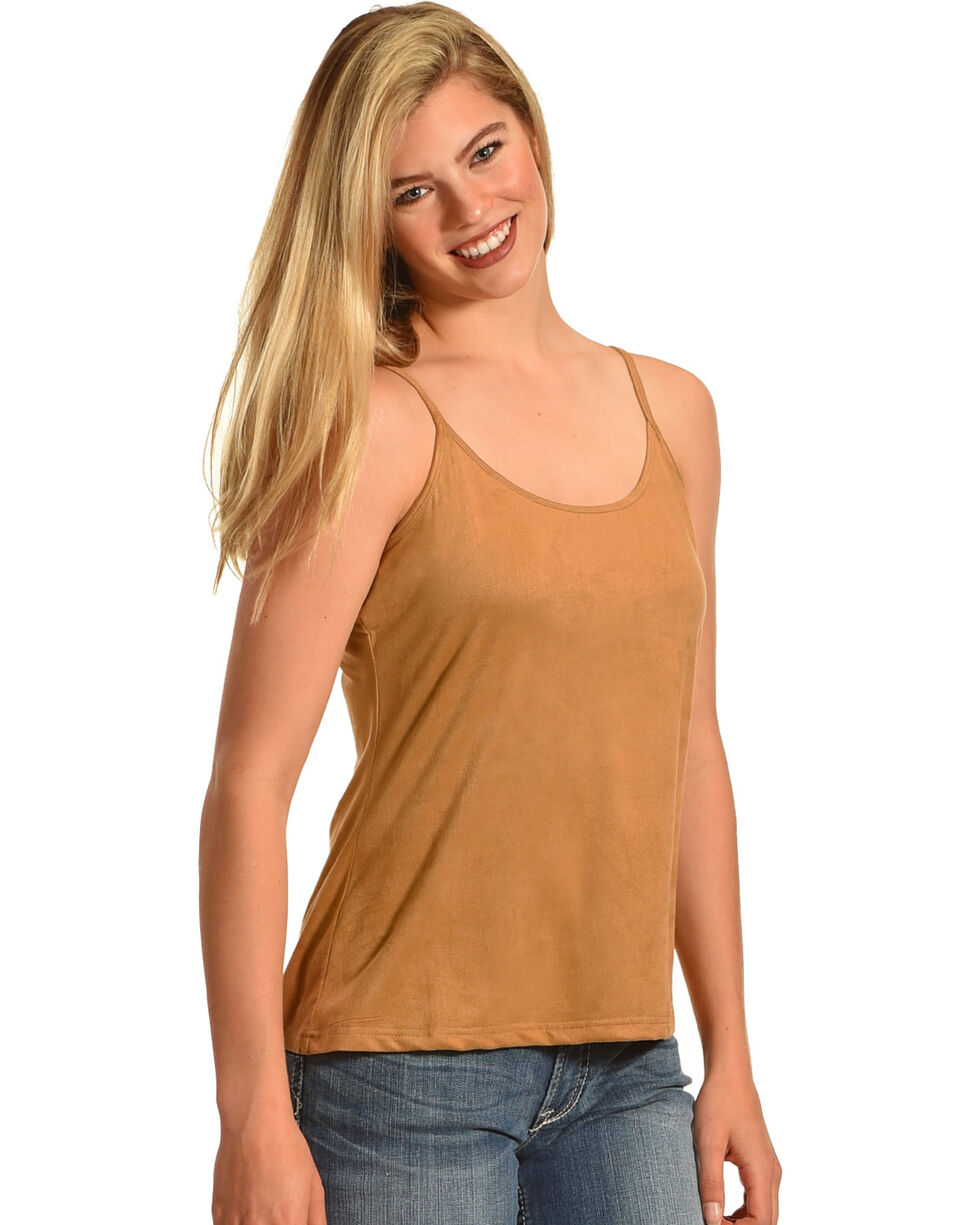 Shyanne® Women's Basic Camisole, No Color, hi-res