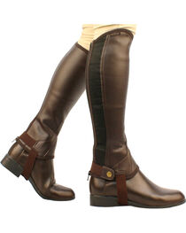 Saxon Equileather Half Chaps, , hi-res