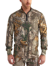 Carhartt Men's Camo Base Force Extremes Cold Weather Quarter-Zip Pullover - Tall , , hi-res