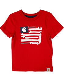 Carhartt Kids' Tools and Stripes T-Shirt, , hi-res