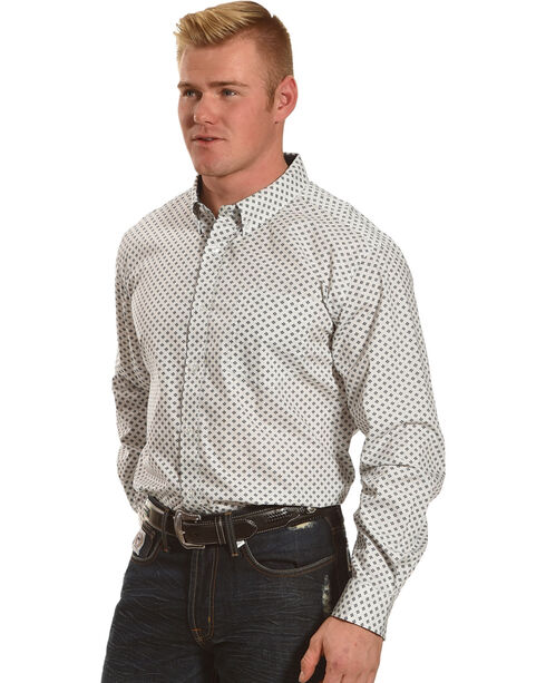 Cody James® Men's Jaggar White Long Sleeve Shirt - Big & Tall, , hi-res