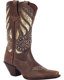 Crush by Durango Women's Bling Western Boots, , hi-res