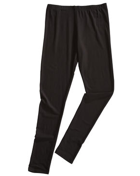 Derek Heart Girls' Black Brushed Yummy Jersey Leggings , Black, hi-res