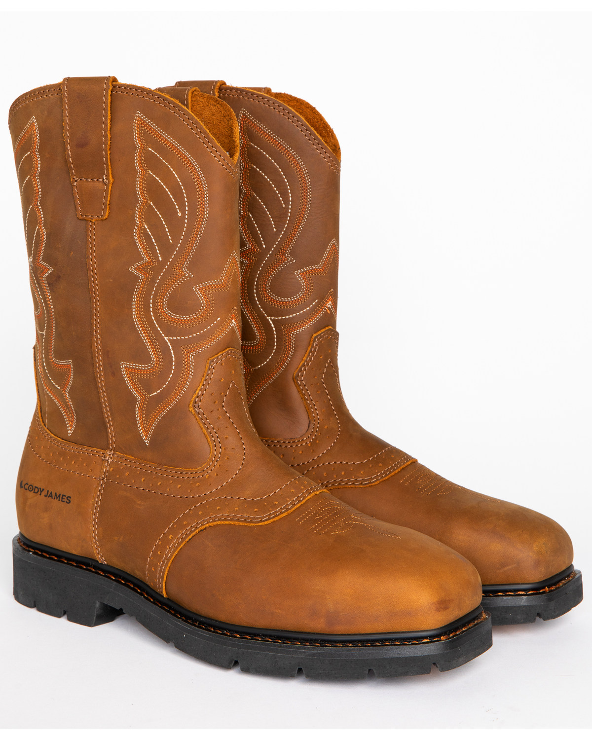 Cody James® Men's Broad Square Composite Toe Western Work