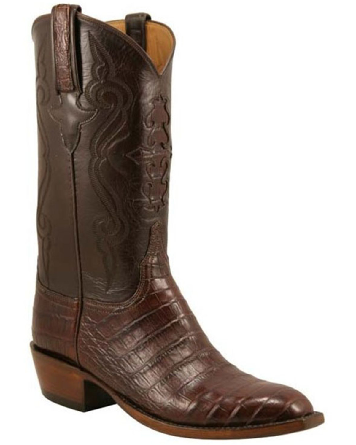 Lucchese Handcrafted Classics Diego Inlay Ultra Caiman