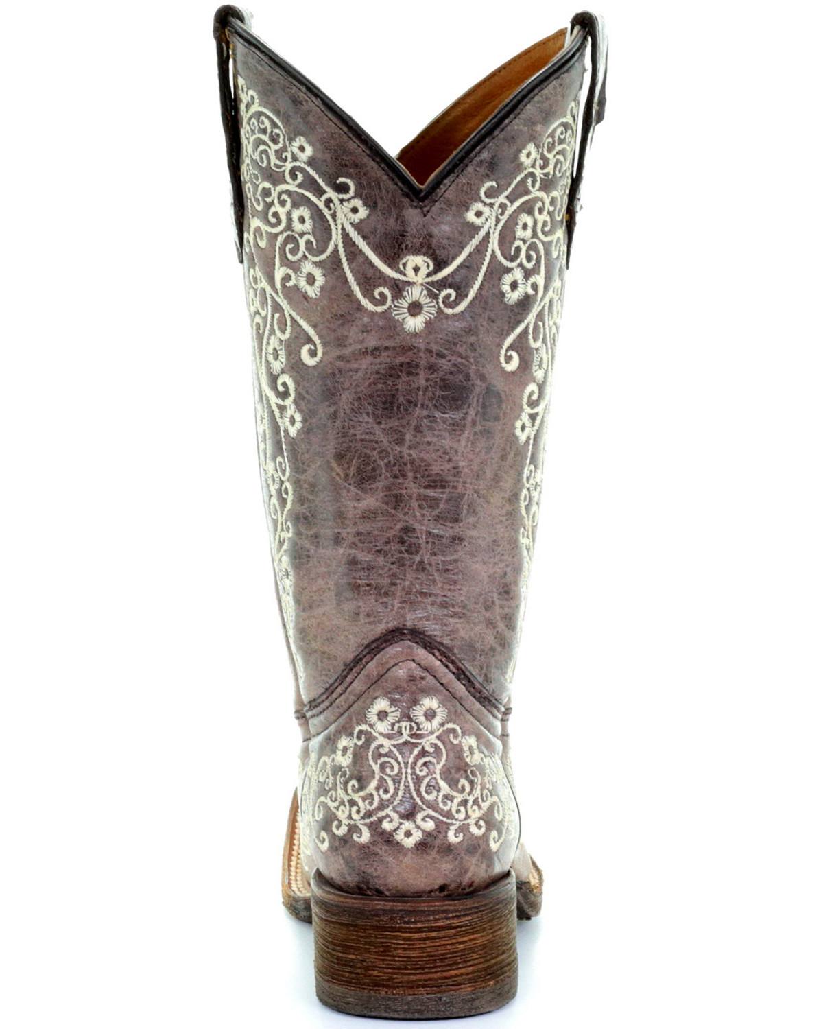 Corral Kids' Embroidered Square Toe Western Boots | Boot Barn