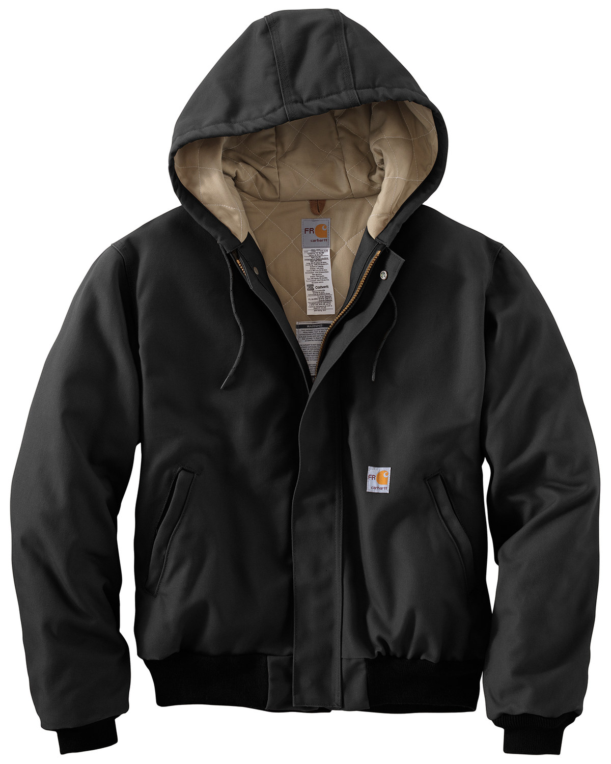 Carhartt Can Cooler ~ Carhartt flame resistant duck active hooded jacket boot barn