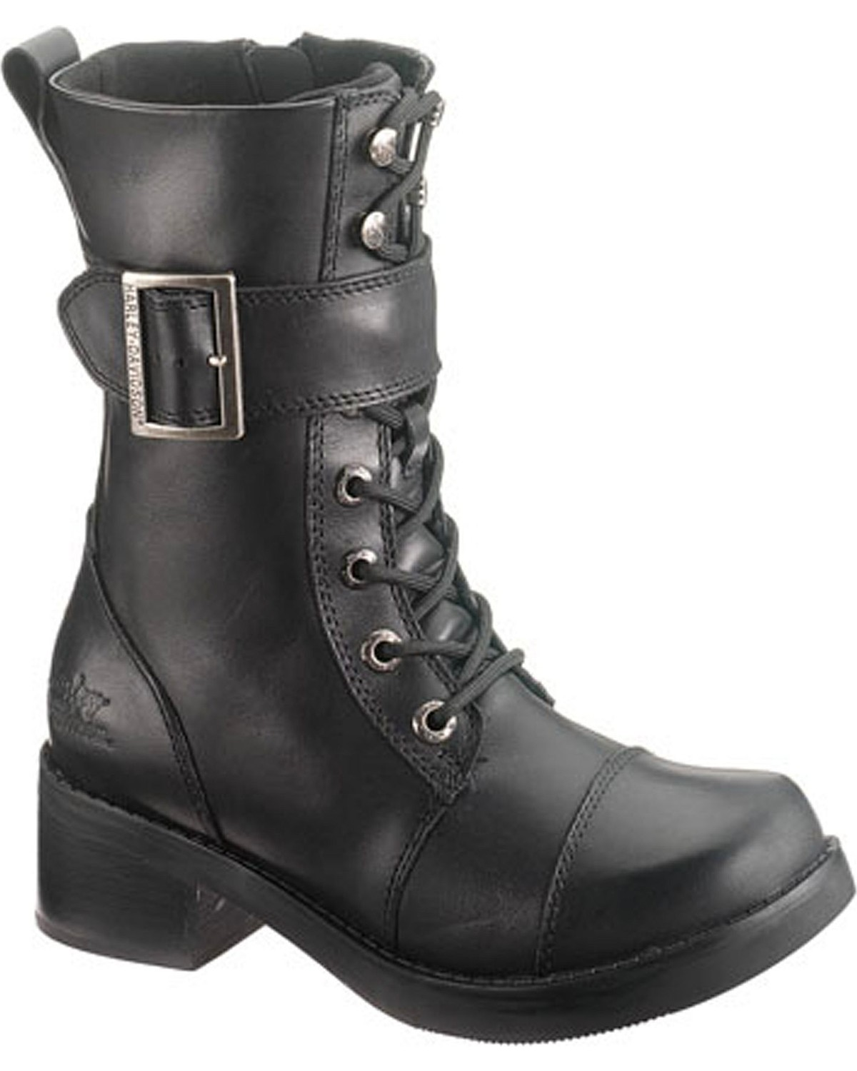 Women Boots Harley Davidson EDA - Lace-up boots - blackharley davidson sale boots clearanceharley davidson sale boots cheap best-loved