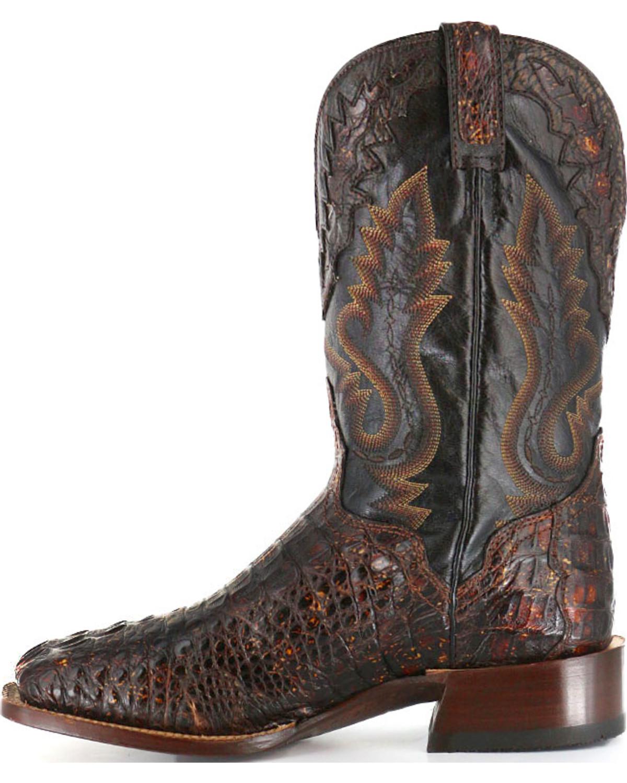 El Dorado Men S Caiman Square Toe Western Boots Boot Barn