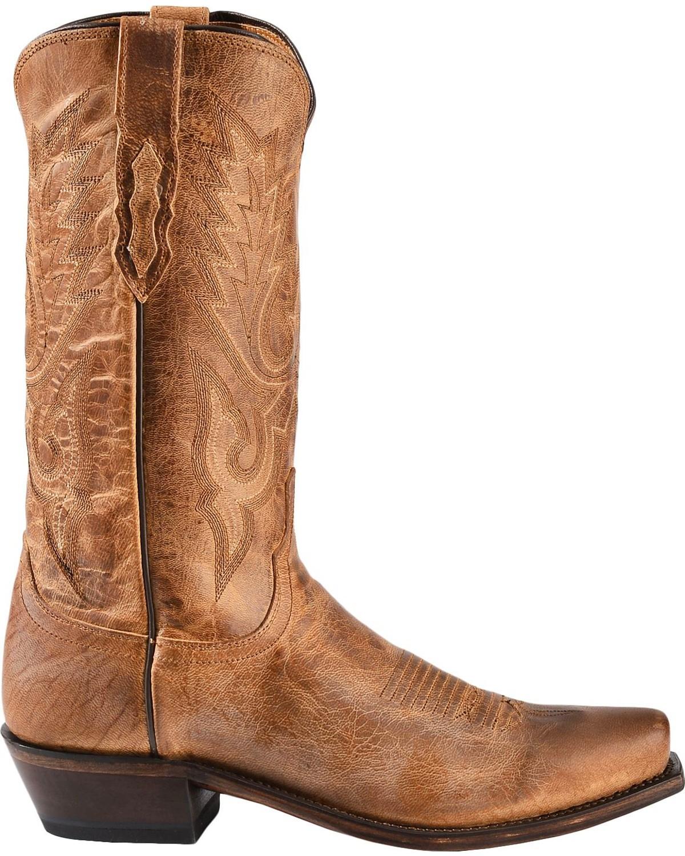 Lucchese Men S Lewis John Wayne Mandras Goat Western Boots