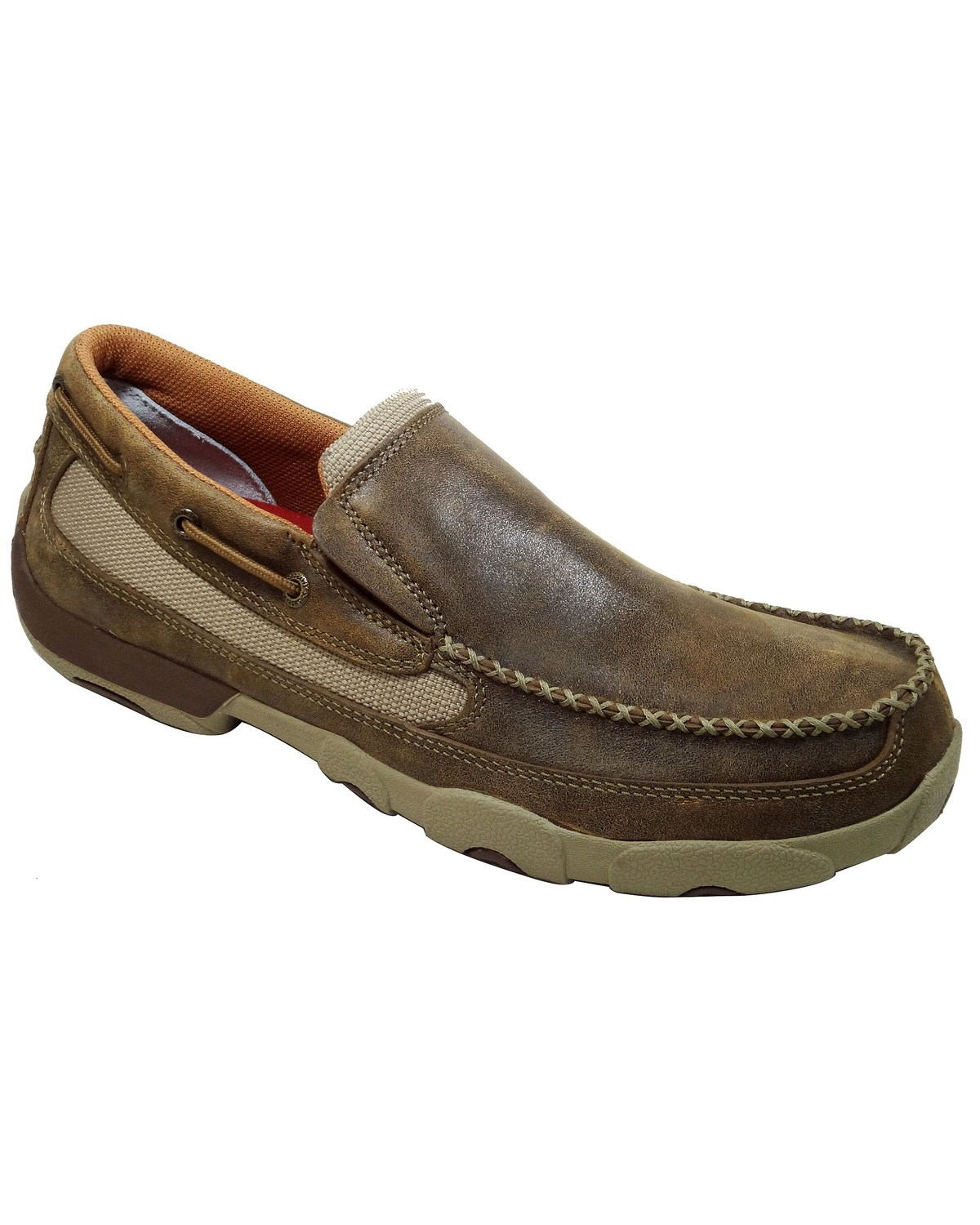 Mens Twisted X Slip On Shoes