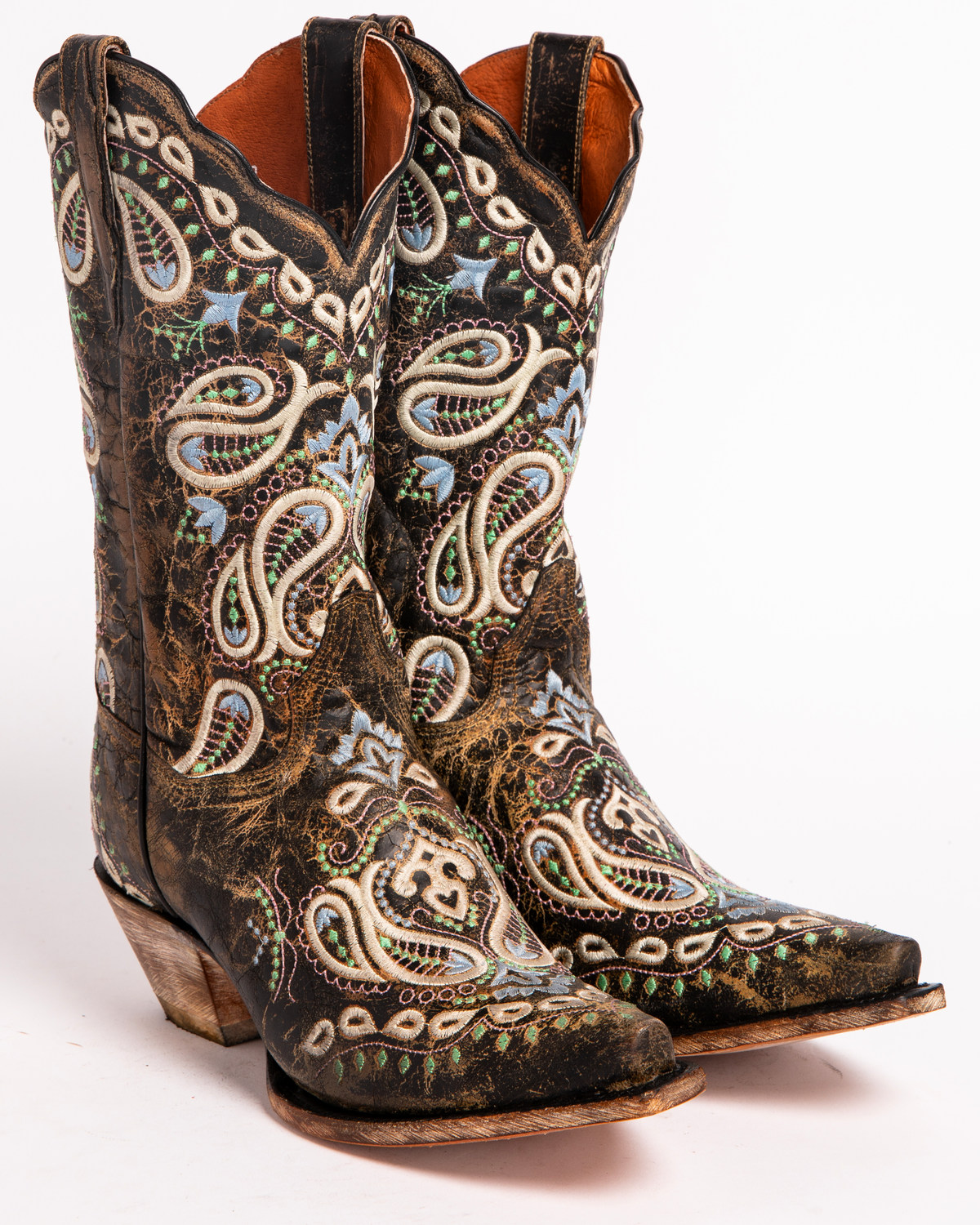 Dan post womens paisley embroidered western boots snip toe dan post womens paisley embroidered western boots snip toe brown reviewsmspy