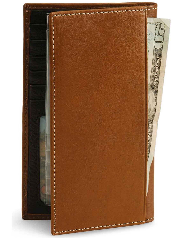 nocona men u0026 39 s rodeo wallet and checkbook cover