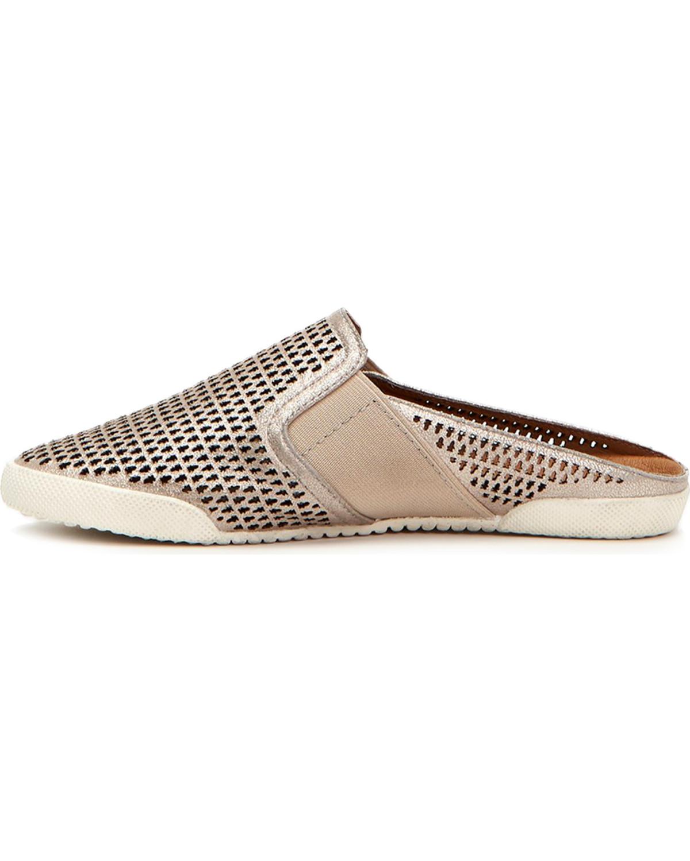 Frye Melanie Gore Perforated Mule Sneakers fnYgeE