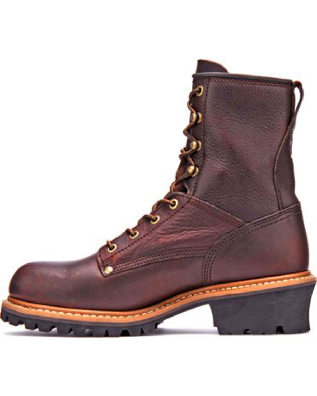 Carolina Men S Logger 8 Quot Steel Toe Work Boots Boot Barn