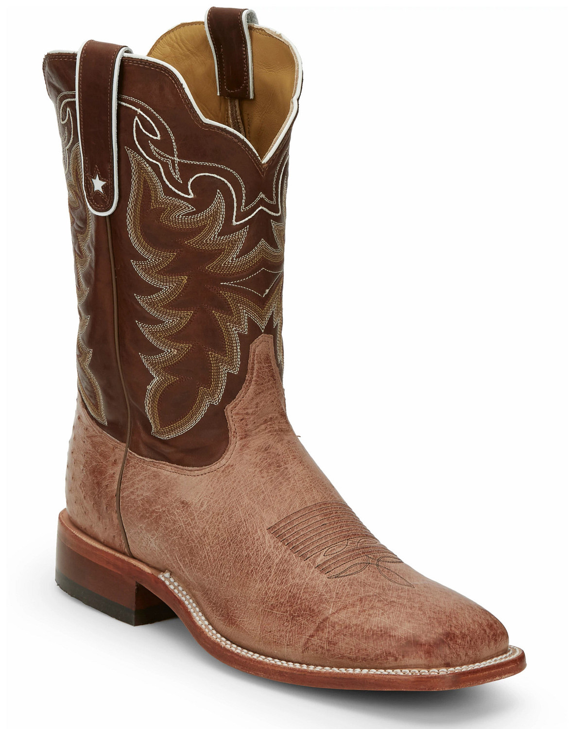 Tony Lama Men S Smooth Ostrich Exotic Boots Boot Barn